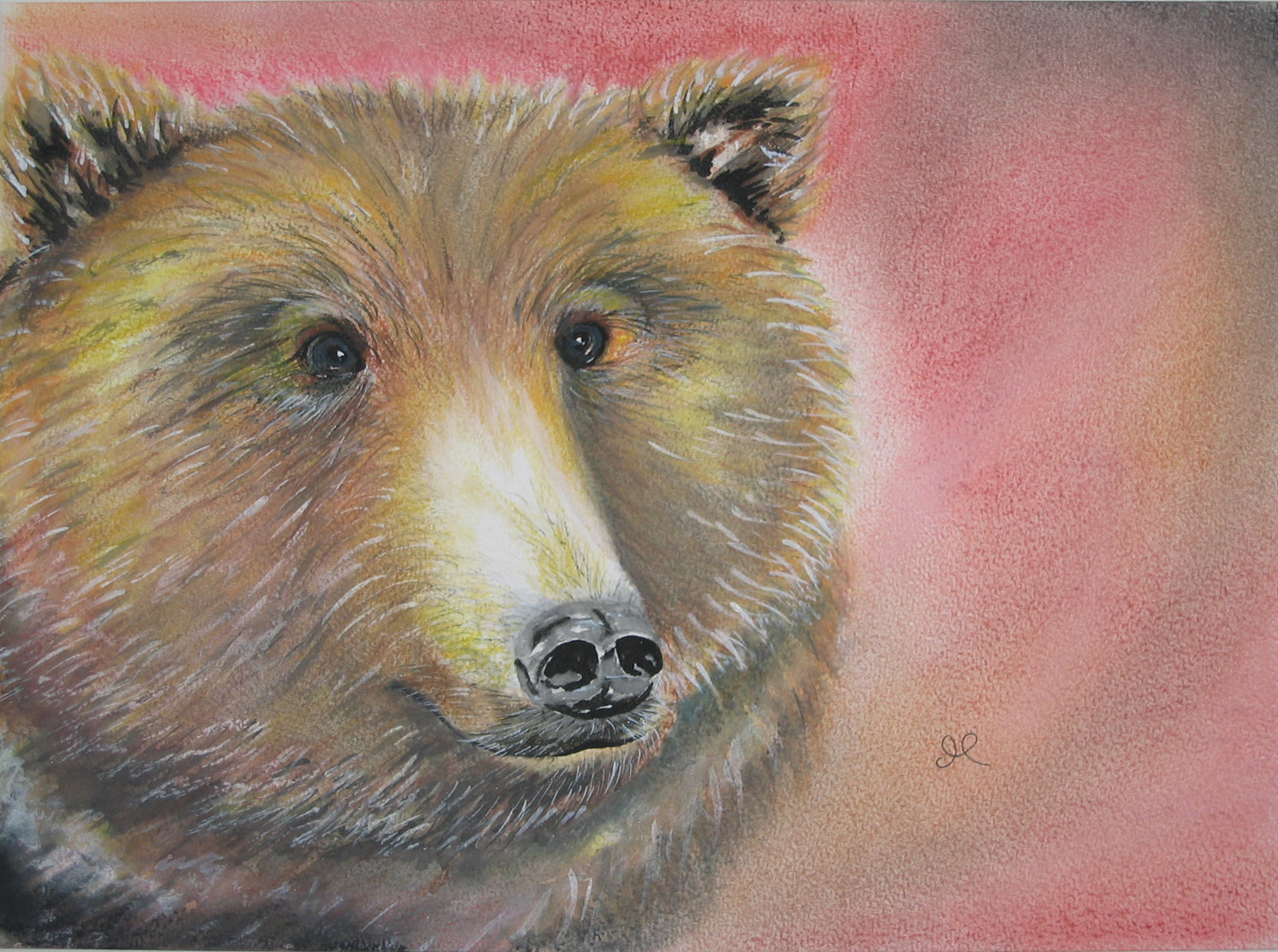 Bear by artist Madeleine Tuttle