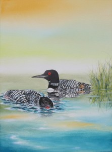 Loon by visionary artist Madeleine Tuttle