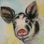 Pig by visionary artist Madeleine Tuttle