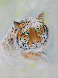 Tiger by visionary artist Madeleine Tuttle