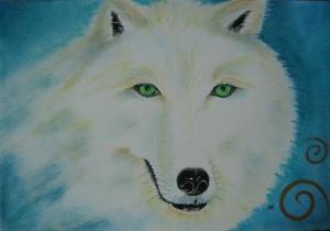 Wolf9 by visionary artist Madeleine Tuttle