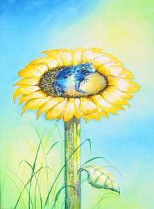 aFrog16 by visionary artist Madeleine Tuttle