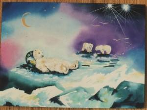 Icebear by visionary artist Madeleine Tuttle