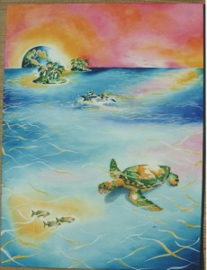 Turtle by artist Madeleine Tuttle