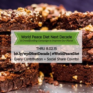 World Peace Diet Brownie
